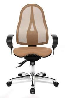 Topstar ST19UG07E Sitness 15 Fitness Swivel Chair with Three-Dimensionally Moveable Seat - Brown £175 @ Amazon