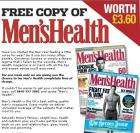 Recieve a FREE complimentary copy of Men's Health magazine worth £3.60