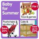 20% off at Boots baby store + 6.5% Quidco + Triple points
