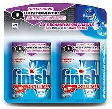 FINISH Powerball QUANTUMATIC set of 2 refills (24 washes) ONLY 99p @ 99p store