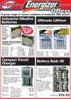 CPC battery clearance; BOGOF all Energizer Industrial.