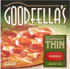 Better Than Half Price Goodfellas Thin/Deep Pizza 340g-419g All Varieties £1.17 @ Morrisons