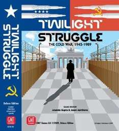 Twilight Struggle Deluxe Edition board game £33.74 at Amazon