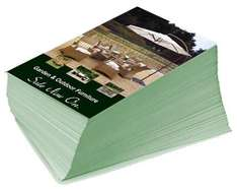 5000 A5 Double Sided Leaflets - £69 Delivered @ thelogoworkshop