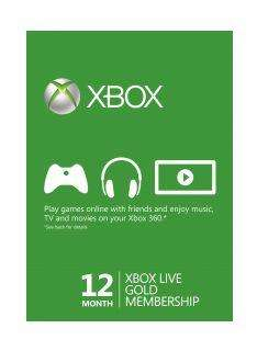 Instant Xbox Live Gold Membership 12 months Xbox Live for £25.99 @ simplycdkeys