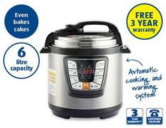 Aldi Electric Multi Cooker with 3yrs warranty - £39.99