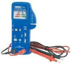 Draper 57574 Battery, Bulb and Fuse Continuity Tester, £8.00 Delivered @ Amazon