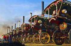 Great Dorset Steam Fair Entry For Two Adults £15 or family entry £21. upto 53% Off) @ groupon