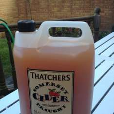 Thatchers fresh 5 Litre cider at Thatchers
