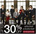 Up to 30% OFF Selected School Wear + Further 15% OFF PLUS 8% Quidco - BHS