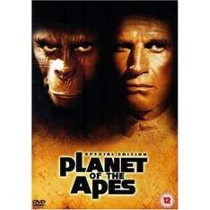 Planet Of The Apes [1968] 35th Anniversary Special Edition - DVD - £2.29 @ dvdgold.co.uk + FREE Delivery + 7% Quidco