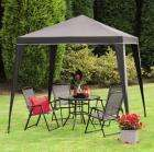 Haiti 6 Piece Garden Furniture Set incl 90cm table 4 folding chairs and a gazebo £59 INSTORE ONLY @ Focus