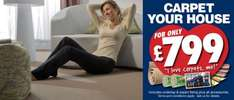Carpet your house for £799 @ Franks the Flooring Store