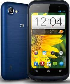 """ZTE Blade V 4"""" Quad core PAYG phone - £99.99 inc £10 Topup @ Virgin Mobile. £81.99 in store for virgin media customers inc £10 Topup"""