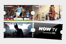 Groupon Now TV films for 6 months £14.99