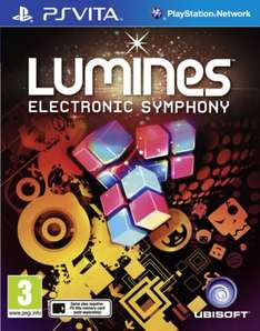 Lumines Electronic Symphony for PS Vita (cartridge) £4.95 @ TheGameCollection deal of the day