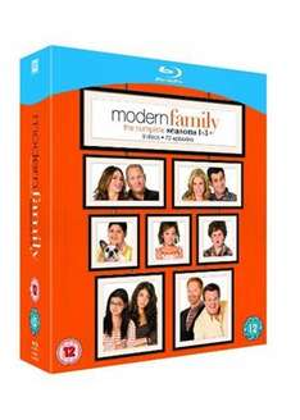 Modern Family Season 1-3 Blu Ray £13.49 @Base w/code