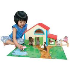 Wooden farm Set Half Price £9.99 & Free Delivery (until midnight 13/10) @ Toys R Us
