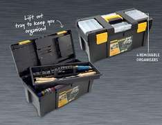 Large Toolbox £9.99 @ Aldi from 17th October