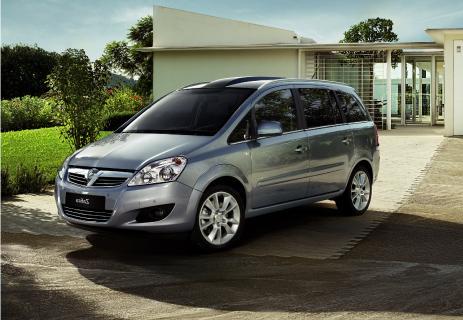 pre registered Vauxhall Zafira 1.6i Exclusiv 16v VVT MPV 5dr £10991 @ Evans Halshaw