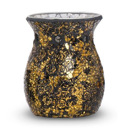 Black and gold smash Yankee candle tart burner and more - £15.68 Delivered @ Yankee Doodle