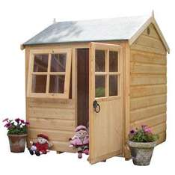 Chestnut Wooden Cottage, £120 delivered at ToysRus