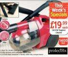 1400W Bagless Cleaner - only £19.99 - Netto Thursday 15th May