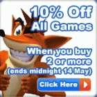 Buy 2 Games or more @ The Hut and get 10% Off (Don't forget Quidco!)