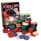 100 Professional Poker Chips & Tin Set only £2.70 delivered!