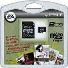PNY 2GB Micro SD Secure Digital Card (Includes Free EA Mobile Game!)