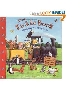 The Tickle Book [Illustrated] [Paperback] RRP £7.99 NOW £3.46 @ Amazon.co.uk