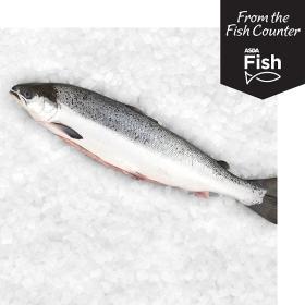 ASDA Whole Salmon - £4 per kg