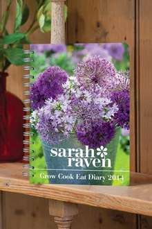 Sarah Raven 2014 Gardening Diary plus packet of seeds £5.93 delivered @ Sarah Raven