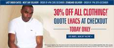 30% off Clothing @ High And Mighty