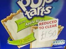 Kellogg's Pop Tarts Frosted Apple Blast 12pk £1.50 @ B&M Bargains
