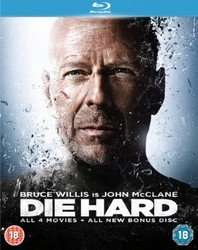 Die Hard - Quadrilogy [Bonus Disc Edition] Blu-ray £10.00 @ Sainsburys Entertainment