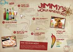 Jimmy's World Grill - Dine for £1 when buying one full price buffet meal