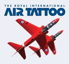 Royal International Air Tattoo, RAF Fairford 11-13 July Super earlybird offer £34 per adult (saving £10)  Kids  Free. Book by Monday 9AM (3 FEB)