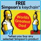 FREE FATHERS DAY KEYCHAIN AT PLAY.COM with selected purchases