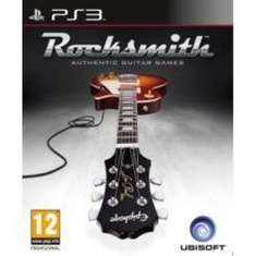 Rocksmith (not 2014) PS3 with real tone cable - Amazon £24.99