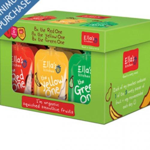 Ella's Kitchen Fruit Smoothie Pouches 24x90g £12.49 @ Costco