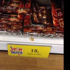 CHOC N ROLL Chocolate Wafer NOW 10p @ Homebargains