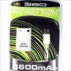 3600mAh Rechargeable Battery Pack for Xbox 360 Controllers - £3.75 delivered - DX
