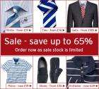 Up to 65% Off Sale Now on @ Charles Tyrwhitt !