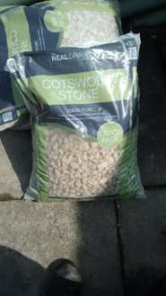 Large Bags Cotswold Stone at Asda 3 for £9.00 or £3.60 each
