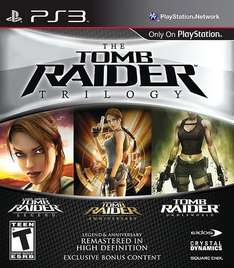 Tomb Raider Trilogy PS3 £7.50 @ Tesco Direct