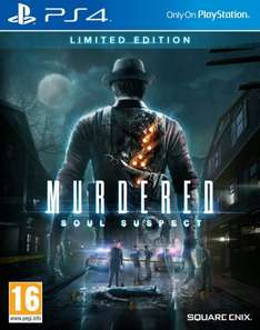 Murdered: Soul Suspect Limited Edition PS4 £32.00 delivered at Amazon