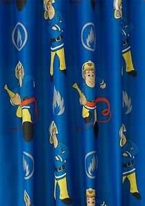 Fireman Sam curtains  - 168 X 137CM £7.99 @ ebay Argos