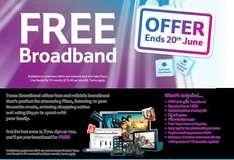 pay £15.40 line rental PM & get FREE unlimited Broadband + FREE Evening & Weekend Calls Total  £178.80 + £35 Quidco = Potential £143.80 + CC Points @ Tesco Broadband