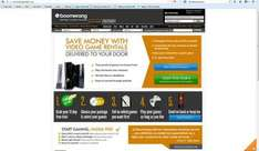 Boomerang game rentals 21 days free trial INC SOME PS4/XBONE TITLES